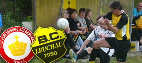 Spielankündigung SpVgg - BC Leuchau