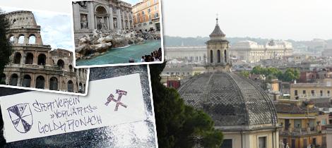 SpVgg-Urlaubsgrüße aus Rom