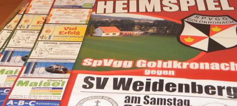 SpVgg Goldkronach – SV Weidenberg