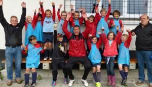 Gronicher F-Junioren feiern Meistertitel
