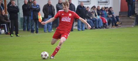 Max Rabenstein beim Heimspiel gegen Sportring Bayreuth