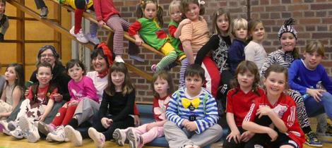 Fasching beim Kinderturnen (2009)