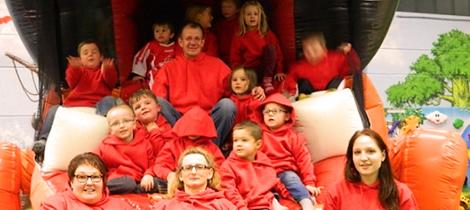SpVgg Goldkronach – Weihnachtsfeier G-Junioren 2014