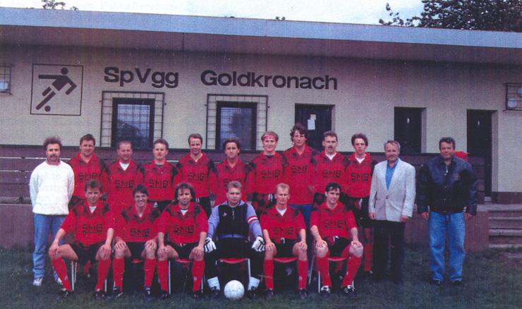 Meistermannschaft der C-Klasse: SpVgg Goldkronach 1994/95