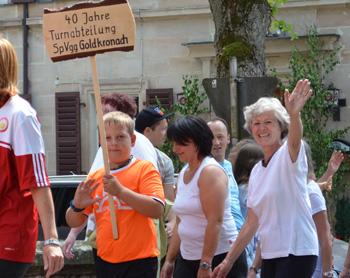 650 Jahre Stadt Goldkronach – 40 Jahre Turnabteilung