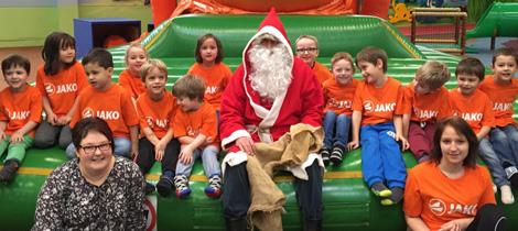SpVgg Goldkronach: Weihnachtsfeier bei den G-Junioren