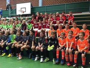 SpVgg Goldkronach: Hallenturnier der F-Jugend in Weidenberg