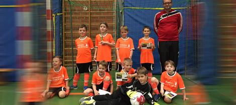 Die U9-Junioren der SpVgg Goldkronach 2016.