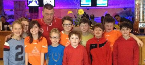 SpVgg Goldkronach: E-Jugend (U11) beim Bowling