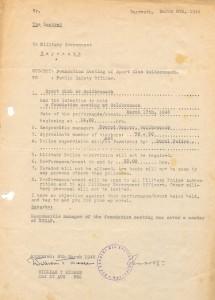 Schreiben der amerikanischen Militäradministration vom 8. 3. 1946