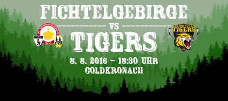 SpVgg Goldkronach – EHC Bayreuth Tigers
