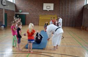 SpVgg Goldkronach: Karate beim Ferienprogramm