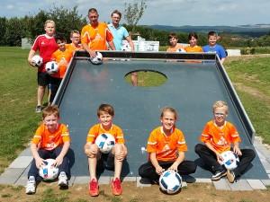 SpVgg Goldkronach: Fußballgolf mit den Junioren